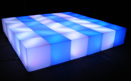 LED Light Cubes