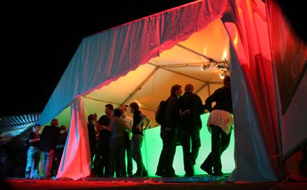 Room Division LED Bar zum MELT! Festival 2007 VIP Area