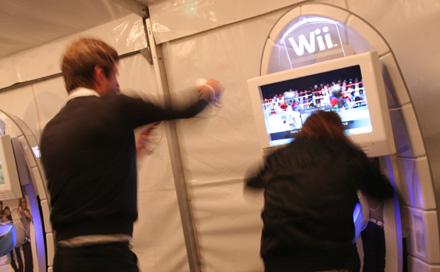 MEDIANIGHT 2007 im Kronprinzenpalais Nintendo Wii Lounge