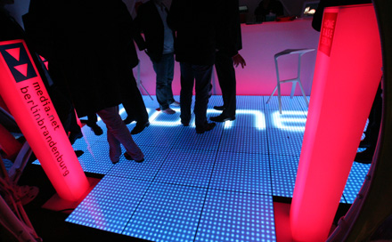 MEDIA.NET Lounge im ZENDOME zur MEDIANIGHT
