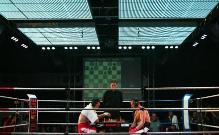 1. WM SCHACHBOXEN WCBO Halbschwergewicht in der Tape Gallery Berlin