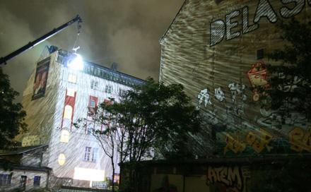 Dreampanel Discofloor auf IN AN ABSOLUT WORLD Club Tour Germany