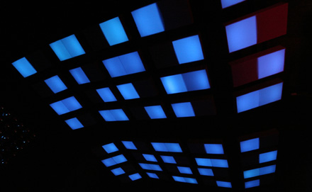 Room Division LED Installation im Arena Club Berlin