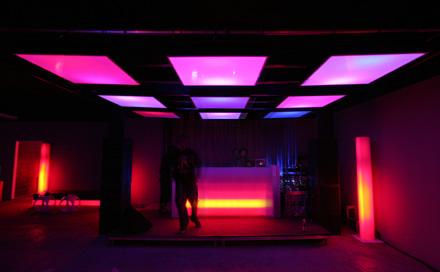 RELAIS Köpenicker Strasse Berlin LED Deckensegel