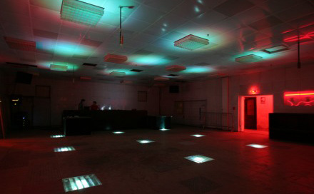 Room Division LED Installation im RECHENZENTRUM BERLIN