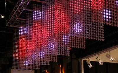 LED 3D Mesh Setup