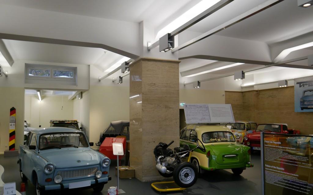 TRABI MUSEUM ZIMMERSTR 6