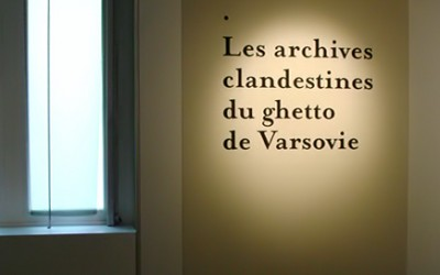 RINGELBLUM ARCHIVES Paris